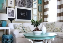 Living Room & Family Room Ideas / by Erica Johnson