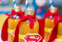 anniversaire de super hero