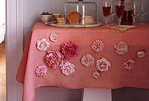 Fabric flowers / by Kara Christensen