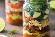 Salads in Jars / Salads taste better in jars! / by Ball® Canning
