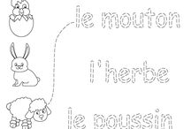 French worksheets children