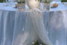 Svatby dekorace / Dekorace stolů