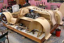 """Wooden Cars / You might not think of """"wood"""" and """"cars"""" together...but we do at LittleSardines.com We have some great traditional toy wooden cars - and we also like to take some inspiration from the larger real world too!  / by James Rackard"""