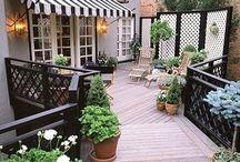 Záhrada a terasa