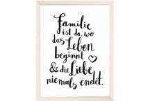 Sprüche  zur Geburt/Familie