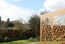 Garden screens and decorative wall panels