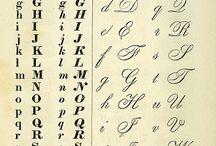 betű rajzolása