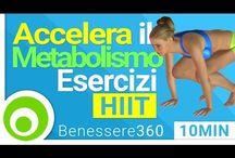 Esercizi per accelerare metabolismo
