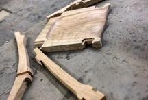 połączenie stolarskie krzesło