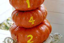 FALL / Autumn, Fall, leaves, pumpkins, diy, crafts, decor, decorations, apples, trees, corn, thanksgiving, halloween, seasonal