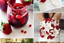 """Trends Frühlingshochzeit / Bunt & Blumig - bei einer Spring Wedding dürfen frische Farben nicht fehlen. Perfekt für eine neue Liebe um zu """"erblühen"""""""