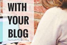 BLOGGING / Inspiring blog posts from fellow bloggers.