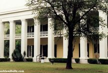 """Ashland-Belle (Helene) / These homes, called """"great houses,"""" are testimonies to a life of wealth that was unequaled in the South up to that time.These great houses were the centerpieces of vast plantations, rich, fertile .The planters hoped to capitalize on the nation's growing demand for cotton and sugar. Those who were successful acquired riches, and celebrated their wealth by erecting great houses as symbols of their affluence and power."""