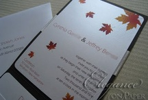 Fall Themed Wedding / by Seating Chart Boutique
