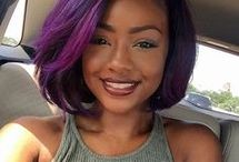 Color Trends for Black Women / Get the latest hair, makeup, fashion color trends here.