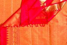 Red sarees