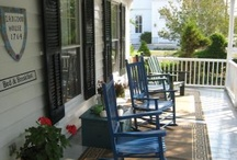 front porch awesomeness / by Kimberly Fiser