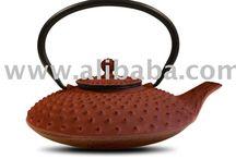 Cast Iron Tea Pots