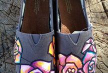 Рисунки на одежде, обуви