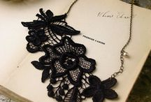 lace bead necklaces