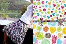 Baumwoll Jersey - Ideen zum Nähen / Inspirationen zum Vernähen von Baumwolljersey