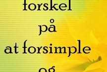 Danish quotes and sayings.