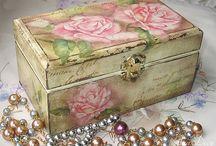 Decoupage cajas