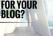 Bloggen & Webdesign / Tipps für Bloggen und Webdesign.
