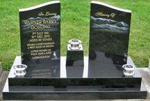 Double headstone ideas