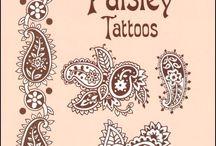 Henna tattoo art