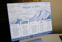 // Decor // / Wedding reception decor, wedding details, wedding ideas, wedding DIY, Colorado wedding photographer, wedding inspo