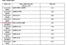 JSC Exam Routine 2016 All Education Board Bangladesh: