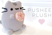 Pusheen & Donut plush