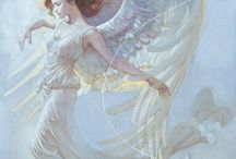 Angels / Wonderful angels / by Connie Wade