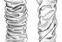 rysunek - materiały i ciuchy