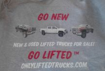 Swag / ConversionsForSale.com Go New Go Lifted t-shirts/sweatshirts / by Conversions For Sale