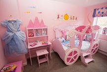 Princess Bedrooms / A bedroom fit for a princess!