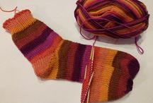 Kötés-Knitting-Zokni-Sock