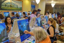Paint Fling /  Your Hawaii Paint Party Specialist! A Paint Fling instructor leads you step by step through the featured painting of the event. No prior painting or drawing skills are required, as we provide proven simplified methods and techniques for a successful artwork. The masterpieces we offer instruction for are fun, beautiful, and easy to paint. Our ever-growing collection incorporates a vast range of designs,  allowing you to choose the ones that appeal to your personality and style.  PaintFling.com