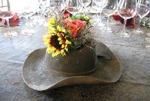 hoed en blom