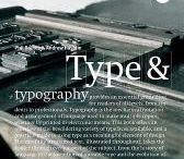Typography / by CCC Library