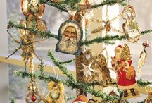 Christmas Trees / Christmas trees decorated with different themes and styles but all beautiful.