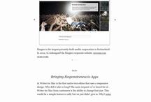 Minimalist websites