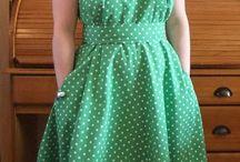 Wrap-over dresses