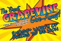 WIN WIN WIN with Grapevine! / Competitions and Giveaways!