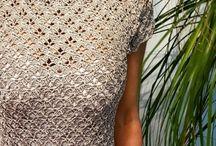 Crochet sport dress