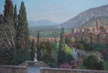 View of Tivoli from the terrace of Villa d'Este