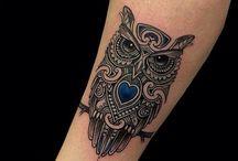 Tattoo uil