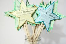 DIY Birthday Party Invitations & Thank You cards for Kids / Easy and quick to make birthday patry invitations, birthday cards and Thank you cards