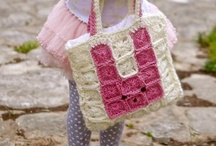 Bolsos, cestos y carteras de ganchillo / Crochet bags, baskets and purses